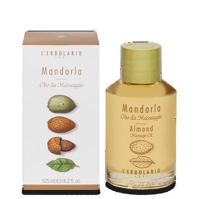 Olio da massaggio Mandorla l'Erbolario 125 ml