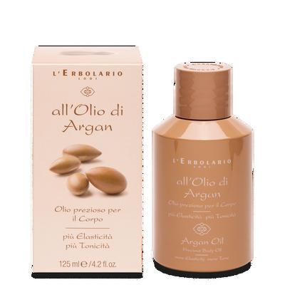 Olio prezioso per il corpo all'Olio di Argan l'Erbolario 125 ml