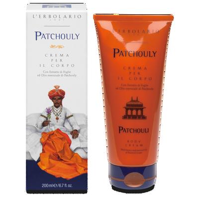Patchouly Crema per il corpo L'Erbolario  250 ml