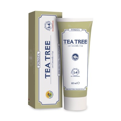 Pomata Tea Tree Erboristeria Magentina 100 ml