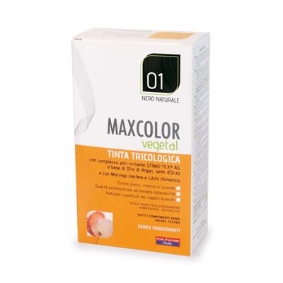 Tinta tricologia Maxcolor vegetale 01