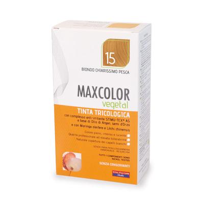 Tinta tricologia Maxcolor vegetale 15