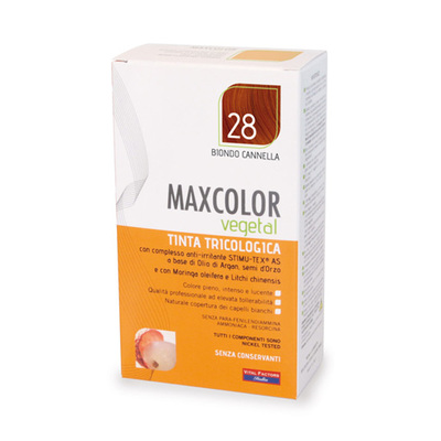 Tinta tricologia Maxcolor vegetale 28