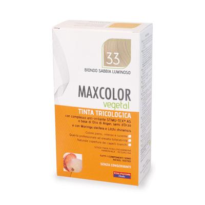 Tinta tricologia Maxcolor vegetale 33