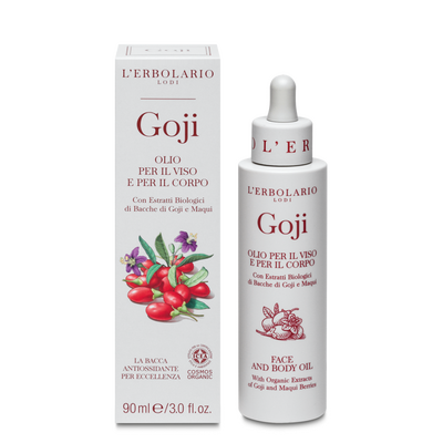 Olio per viso corpo Goji l'Erbolario