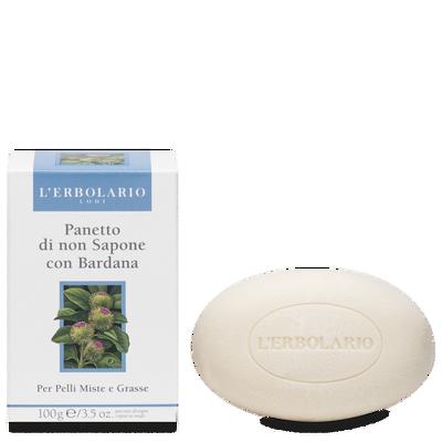 Panetto di Non Sapone alla Bardana per pelli miste 100 gr