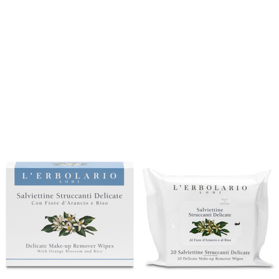 Salviettine struccanti delicate 20 salviettine