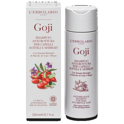 Shampoo Goji antirottura per capelli sottili e sfibrati