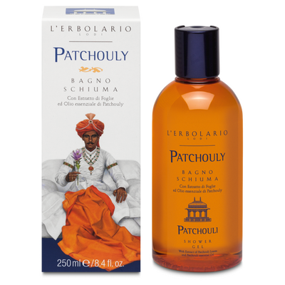 Bagnoschiuma Patchouly l'Erbolario 250ml