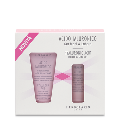 Set Mani & Labbra Acido Ialuronico