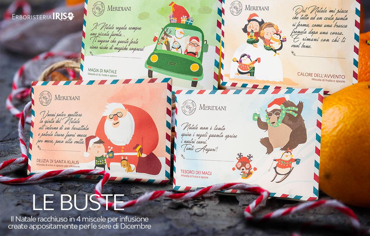 Buste infusi di Natale